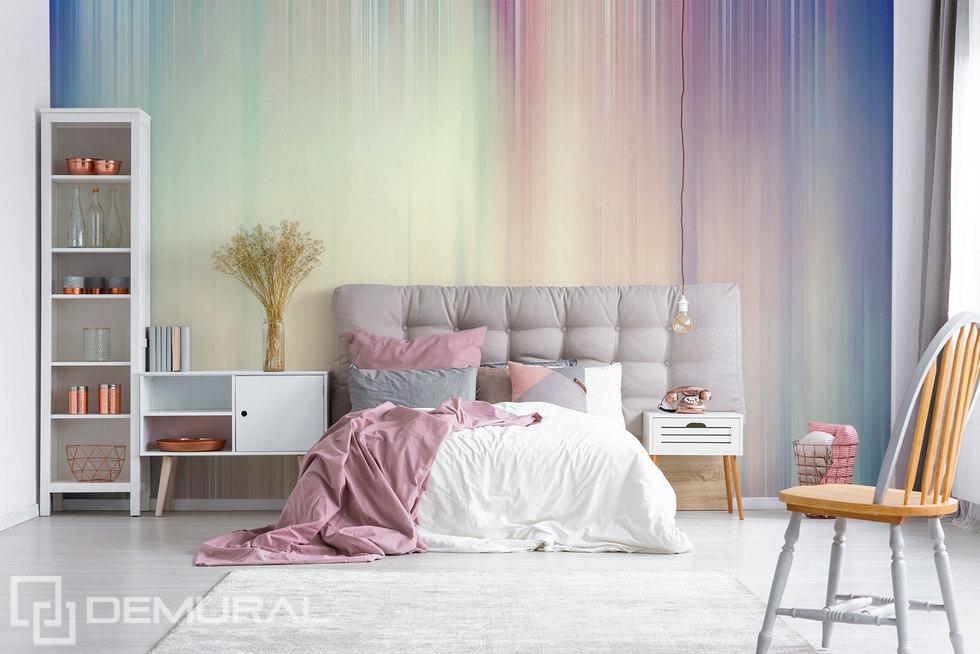 Des moments volatiles - Papier peint pastel