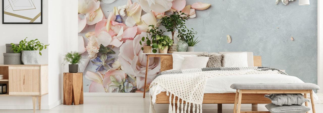 Papier peint Fleurs - Demural