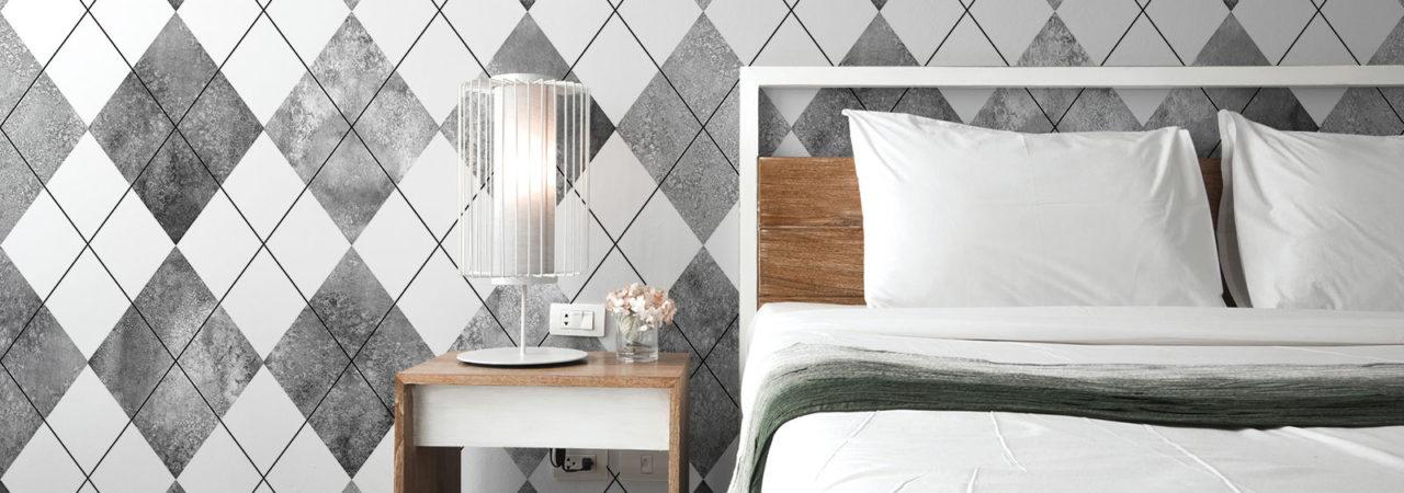 Papier peint géométrique - Demural