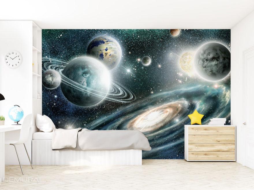 Papier peint Cosmos - Demural