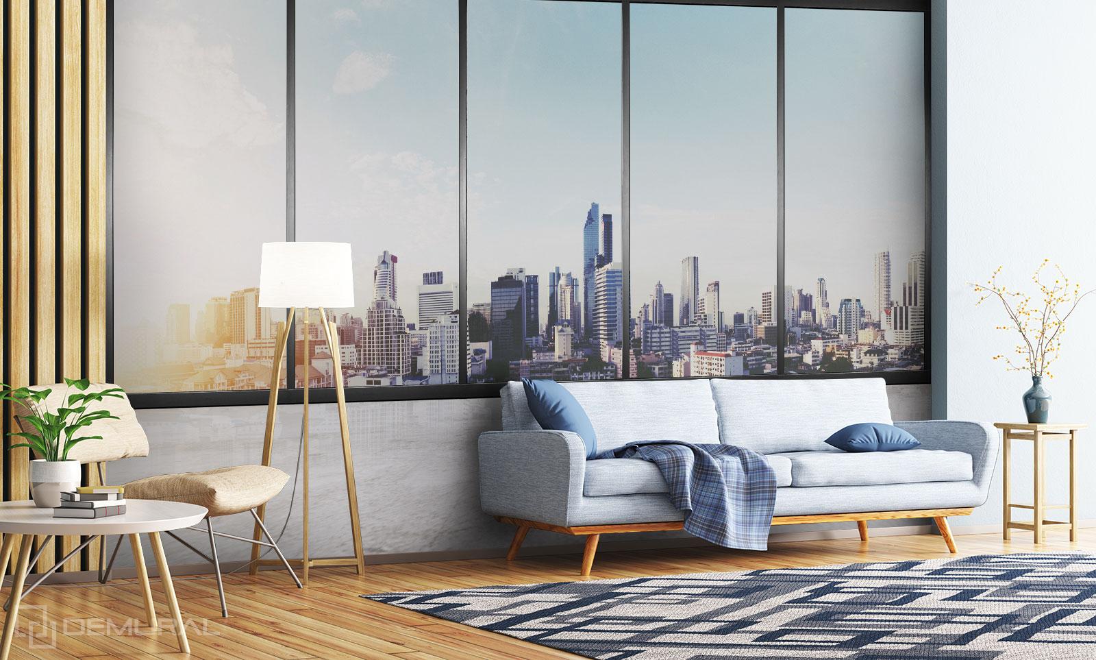 Papier peint Fenêtre sur le monde - Papier peint Fenêtre - Demural