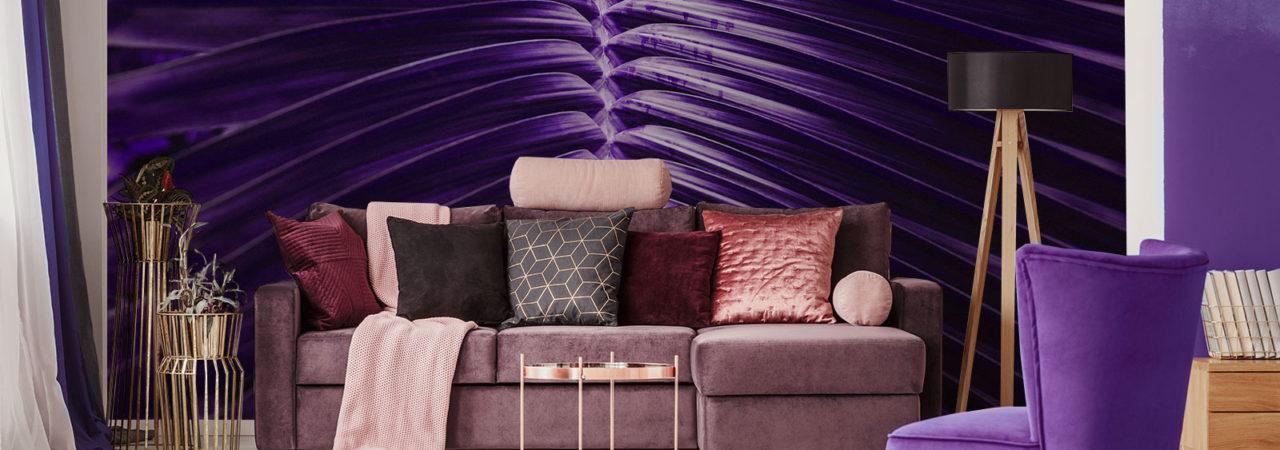 Papier peint ultra violet - Demural