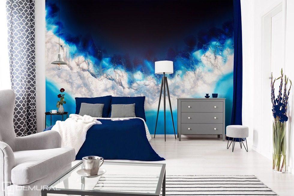 Mariage de blanc avec du bleu - Papiers peints Texture - Papiers ...