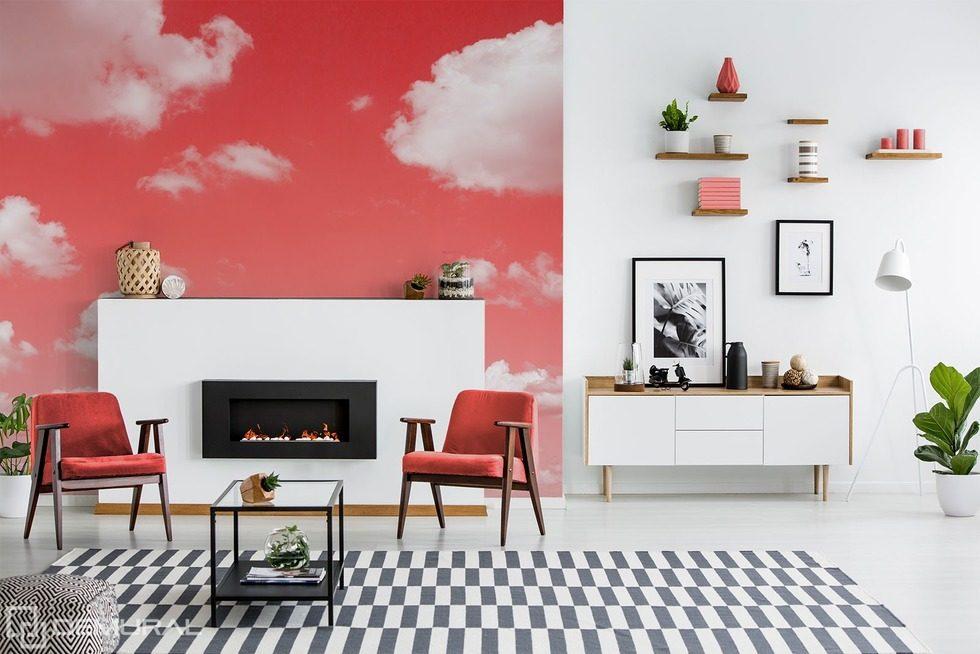 nuages originaux ciel papiers peints papiers peints. Black Bedroom Furniture Sets. Home Design Ideas