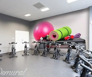 decor photo et motivation fit papier peint dans club de fitness papiers peints demural