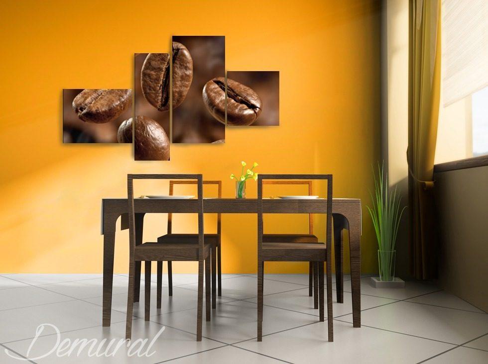 Caf puzzle tableaux pour salon de coiffure tableaux for Tableau pour salle a manger
