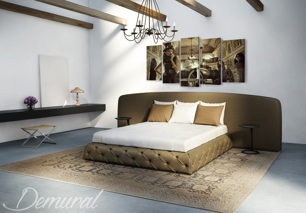 se garer dans la chambre coucher tableaux pour. Black Bedroom Furniture Sets. Home Design Ideas