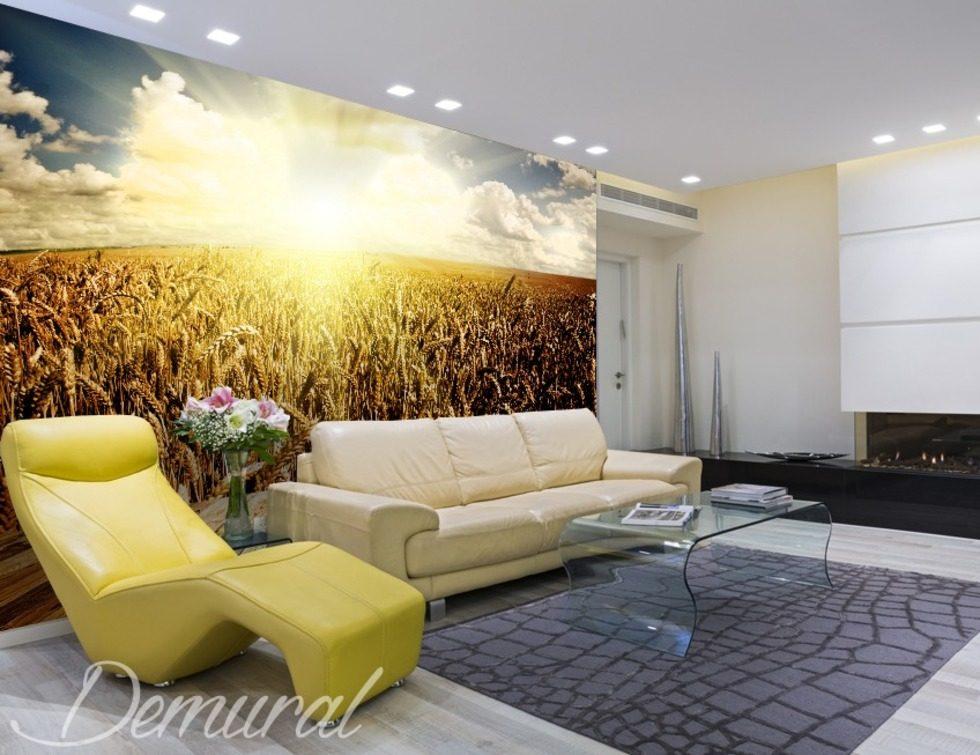 r coltes de design papier peint pour le salon papiers. Black Bedroom Furniture Sets. Home Design Ideas