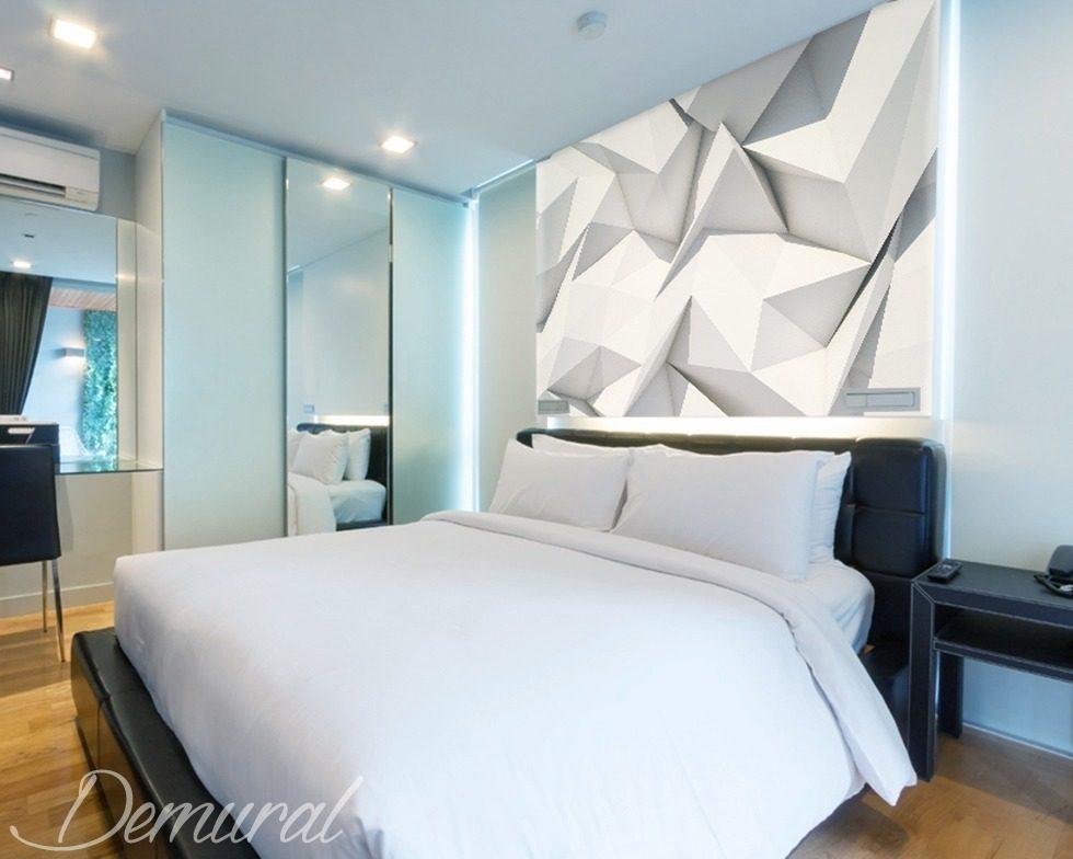 Origami Dans La Chambre À Coucher - Papier Peint Pour Le Chambres