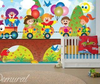 Papiers peints pour la chambre d 39 enfant peinture murale - Papier peint pour chambre d enfant ...