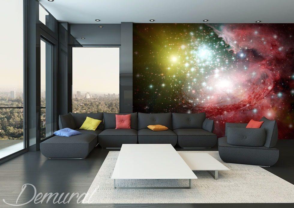 couleurs de l 39 espace papiers peints cosmos papiers peints demural. Black Bedroom Furniture Sets. Home Design Ideas