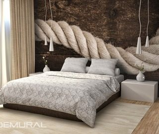 papiers peints style nautique demural. Black Bedroom Furniture Sets. Home Design Ideas