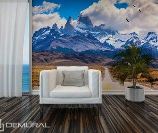 Papiers peints pour le salon peinture murale demural for Papier peint pour salon moderne