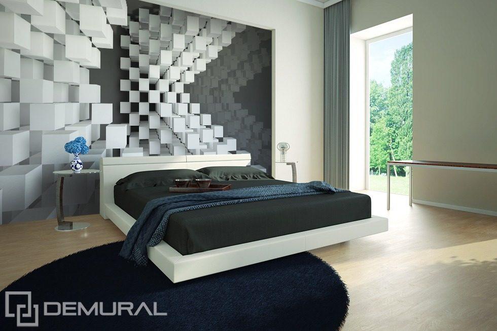 suspendus dans l 39 air papiers peints en trois dimensions papiers peints demural. Black Bedroom Furniture Sets. Home Design Ideas