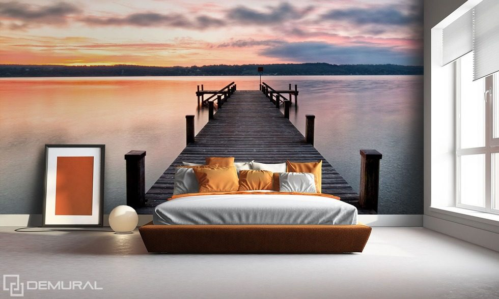 souvenirs du bord de la mer papiers peints grossissant optiquement papiers peints demural. Black Bedroom Furniture Sets. Home Design Ideas