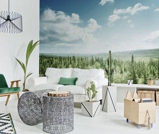 papiers peints for t demural. Black Bedroom Furniture Sets. Home Design Ideas