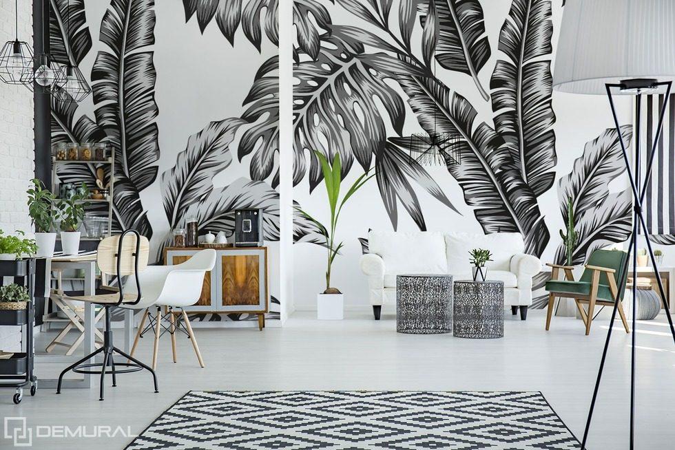 Accent monochrome - Papiers peints noir et blanc - Papiers peints ...