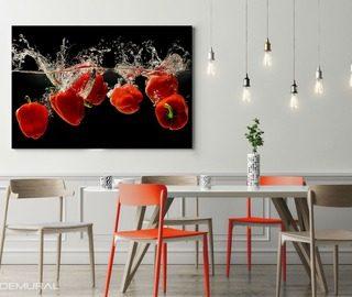 images dans la salle manger demural. Black Bedroom Furniture Sets. Home Design Ideas