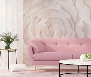 papiers peints fleurs demural. Black Bedroom Furniture Sets. Home Design Ideas