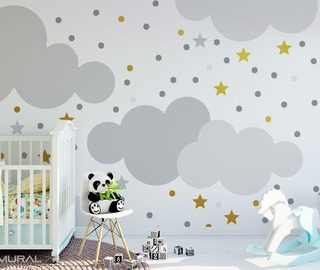 papiers peints pour la chambre d 39 enfant demural. Black Bedroom Furniture Sets. Home Design Ideas