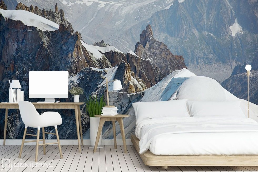 papier peint des montagnes magie tout inclue papiers peints montagnes papiers peints demural. Black Bedroom Furniture Sets. Home Design Ideas