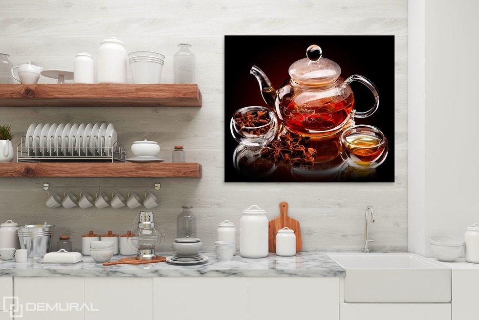 toile pour cuisine cool best design peinture de cuisine moderne saint paul angle stupefiant. Black Bedroom Furniture Sets. Home Design Ideas