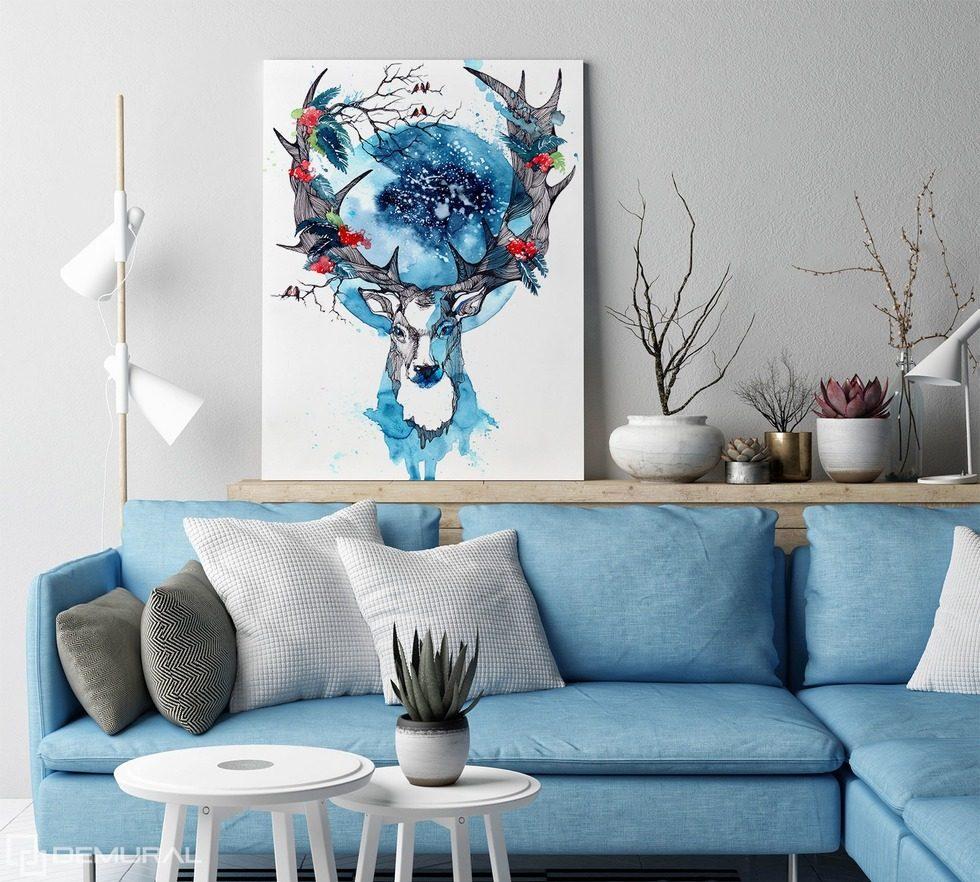 beaute scandinave tableaux animaux tableaux demural. Black Bedroom Furniture Sets. Home Design Ideas